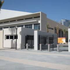 Pilomat automatic and fixed 275/K12-900 at the American school of Dubai
