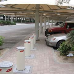 Pilomat 275/K4FB-700F in a parking of Dubai Media City