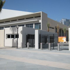Pilomat automatic and fixed 275/K12-900A at the American School of Dubai, UAE