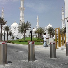 Pilomat 275/K4-900A at Zayed Grand Mosque in Abu Dhabi