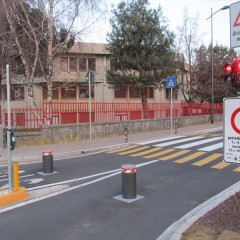 Pilomat 275/P-600A to protect the school street in Ponteranica, Italy